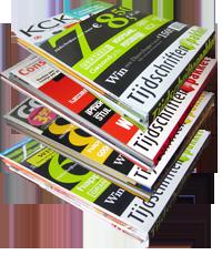 stapel tijdschriften