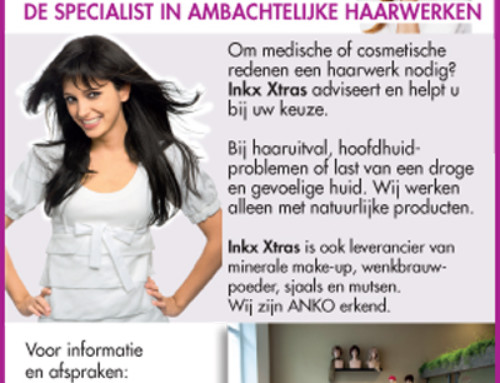 Advertentie Inkx Xtras